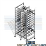 Sterile Instrument Tray Shelving Storage Racks SPD CSSD OR Surgical Kits Wire