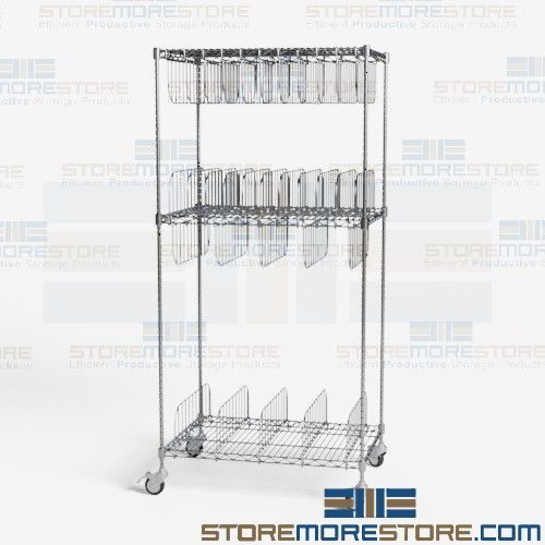 Mobile art storage cart rolling wire shelving wire framed painting free sciox Images