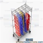 Backboard Storage Racks EMT How to Store Portable Stretchers Mobile EMS361886