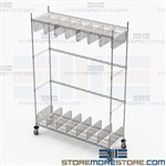 Storage Racks EMT Spinal Boards Portable Backboard Stretcher EMS601886
