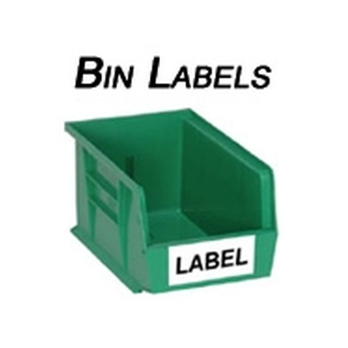 Spacesaver PBLUS224 Labels for Bins ...  sc 1 st  StoreMoreStore & Spacesaveru0026reg; PBLUS224 Storage Bin Labels | Quantum Plastic Bin ...