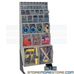 Storage Bin Rack System Maintenance Parts Storage Hardware Quantum QFS148-38