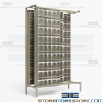 Tip Out Bin Sliders Hardware Storage Organizer Parts Cabinets Quantum QS-305-36