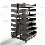 Stock Picking Carts Parts Transportation Industrial Automotive Storage Mobile