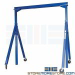 A-Frame Steel Crane 15' Long x 14' High Hoist Materials Lift Equipment