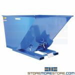 Industrial Trash Hopper Forklift Portable Bin