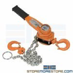 20 Chain Hoist 1500 lb Pulley Lifting Equipment Material Handling