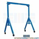 Fixed Height Gantry Crane Steel Beam A-Frame Material Handling Equipment