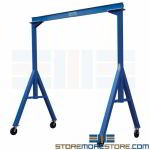 Fixed Height Gantry Crane Hoist Lift Industrial Material Handling Equipment