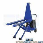 DC Powered Lifting Pallet Jack Ergonomic Height