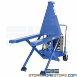 Pallet Jack Lift Battery-Operated Skid Platform