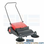 Outdoor Push Sweeper | Material Handling Equipment | SMS-46A-HJAN-LG
