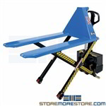 Pallet Jack Waist-High Skid Lifter Ergonomic
