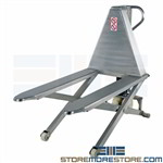 Stainless Waist-High Lift Table Ergonomic Skid