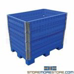 Adjustable Height Pallet Container Plastic Skids
