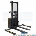 Pallet and Skid Forklift Adjustable Support Legs Electric Light Duty Lifter