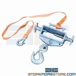 Fork Truck Lifting Hoist Single Prong Hook Warehouse Forklift Prong Crane