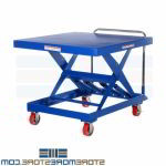 Height Adjustable Platform Cart Material Handling