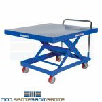 Adjustable Height Ergonomic Cart Mobile Lift Table