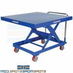 Platform Lift Cart Raises Lowers Mobile Truck