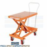 Adjustable Height Hand Cart Ergonomic Lift Mobile