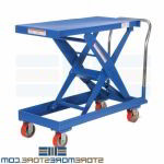 Hand Cart Height Adjustable Rolling Platform Truck