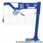 Van Jib Lifter Cargo Hoist Heavy Material Pulley Industrial Equipment