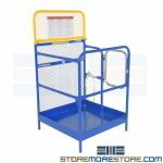 Forklift Safety Work Cage Steel Warehouse Lift