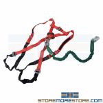 Fall Safety Harness Medium Web Lanyard Straps