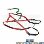Fall Safety Harness XL Web Lanyard Straps