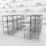 Sliding Wire Racking Shelving and Gliding Wire Racks