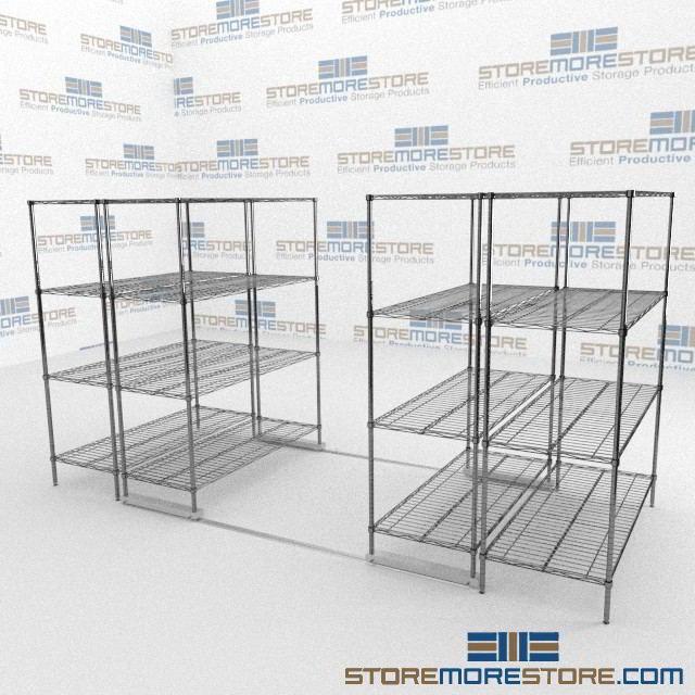 High Density Wire Shelving Racks | Food Service Wire Racks | High ...