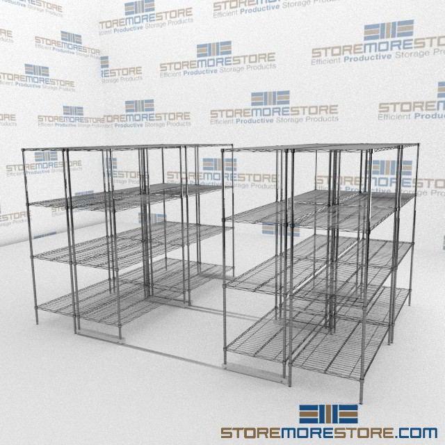Sliding Wire Shelves | Ada Gliding Wire Shelf | Food Storage Wire ...