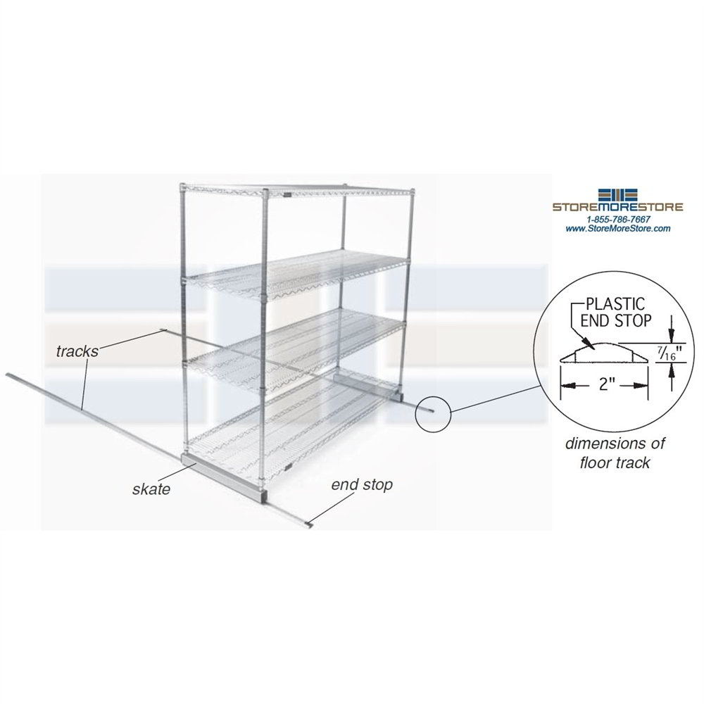 Moving Modular Wire Shelving Moving Pantry Sliding Wire