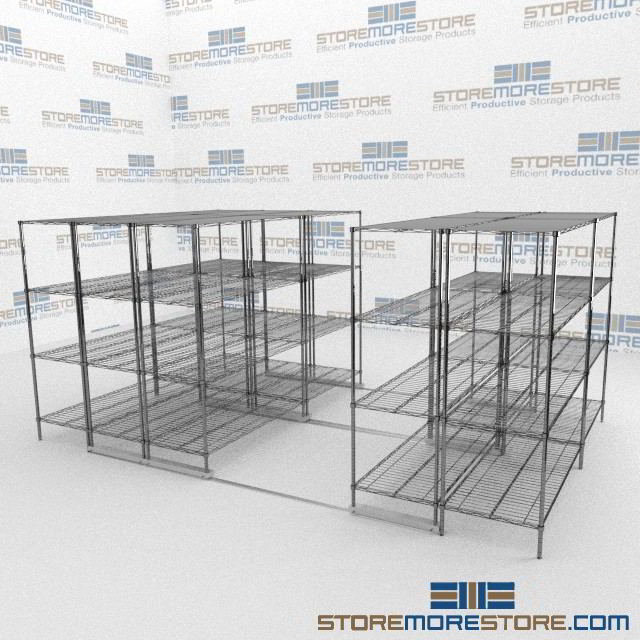 Condensed Wire Shelving | Wire Shelving Units | Wire Rolling ...