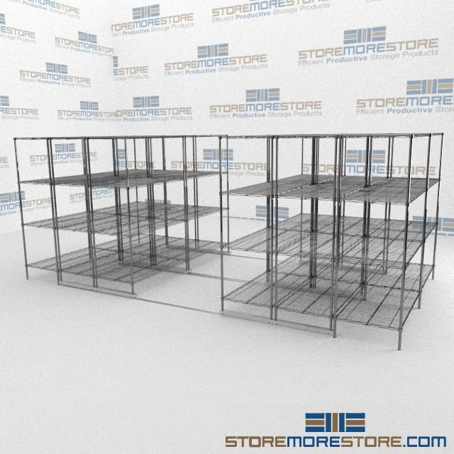 Wire Racks For Storage | Rolling Commercial Wire Bakers Racks Wire Rack Storage Ada