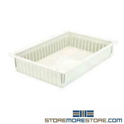Quantum PS-PT16244 24 inch x 16 inch x 4 inch Solid Tray PS-PT16244