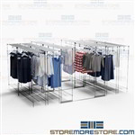 Garment Racks Backroom Storage Hanging Clothes Need More Storage Floor Space