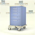 6 Drawer Medical Supply Drawer Cart