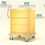 3 Drawer Steel Hospital Cart