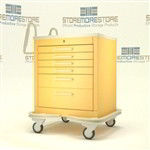 Mobile Six Medication Cart | Surgical Equipment Medication Cart