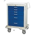 Portable 6 Anesthesia Cart | Surgical Equipment Anesthesia Cart