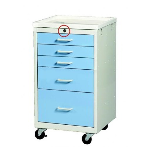 5 Drawer Key Lock Two Tone Sms 50 Mmc 524 Armstrong