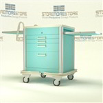 MRI Compatible Anesthesia Cart | Surgical Equipment Cart | Hospital Operating Room Cart