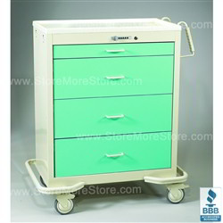 Rolling Aluminum Cabinet | Surgical Equipment Cabinet