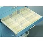 "Drawer Divider Kit, 3"" Drawer FOR STANDARD CART, #SMS-51-TDV-3"