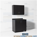 Mail Supplies Counter Wall Cabinets Copyroom Casework Movable Millwork Furniture