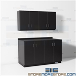 Counter Cabinets Workrooms Office Supplies Storage Upper Lower Base Units