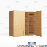 Folio Hutch Shelves Storing Music Folders Racks Bin Cubby Slots Organizing Music