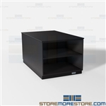 Work Counter Island Cabinets Office Copy Room Millwork Storage Casework Units